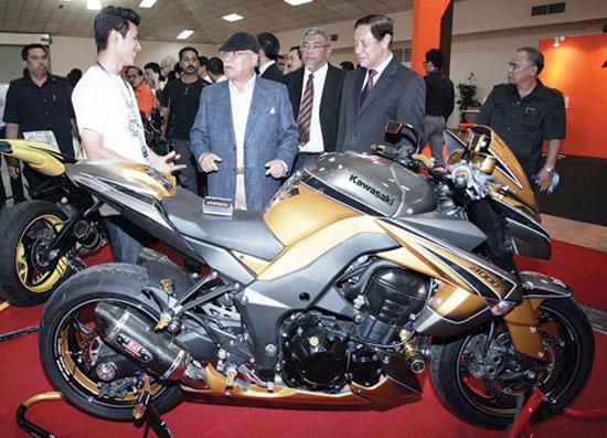 Kawasaki di MotoXpo Kuala Lumpur