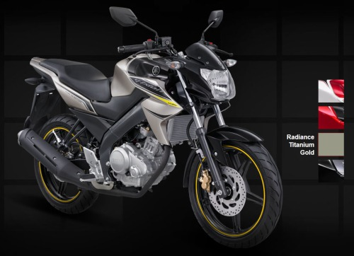 Yamaha New Vixion - Radiance Titanium Gold