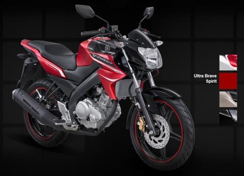 Yamaha New Vixion - Ultra Brave Spirit