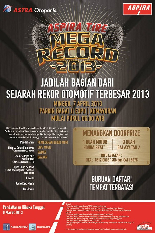 Aspira Tire - Mega Record 2013