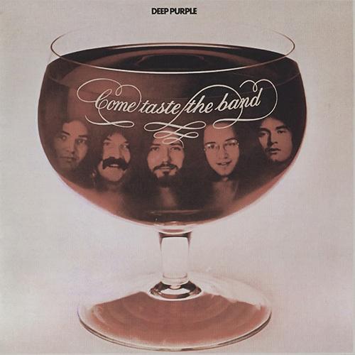 Deep Purple - Come Taste The Band album cover