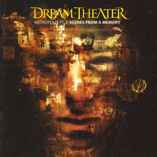 Dream Theater Metropolis pt 2 Scenes from a memory album cover