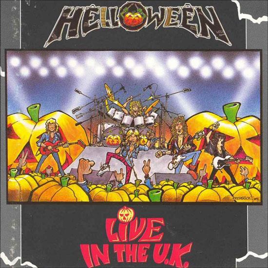 Helloween Live in the UK album cover