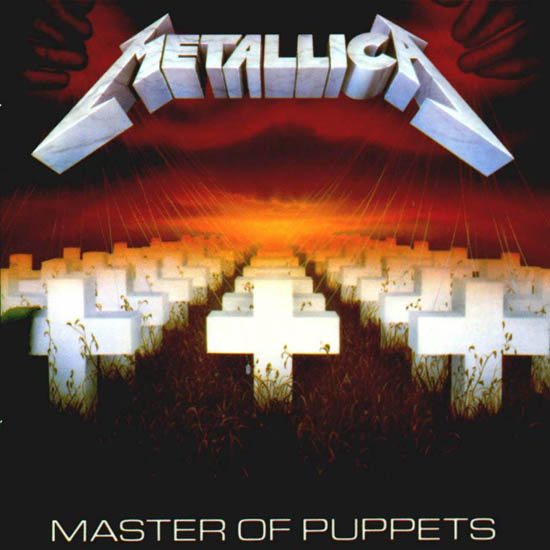 Metallica Master of puppets album cover