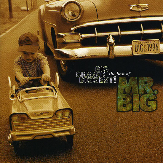 Mr. Big - Big Bigger Biggest album cover