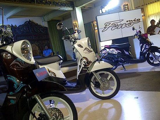 Yamaha Mio Fino Edisi I Love Indonesia