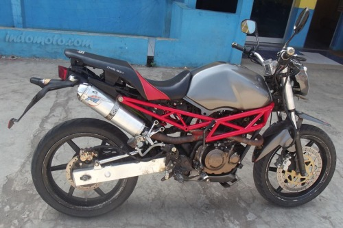 TVS Apache Modification