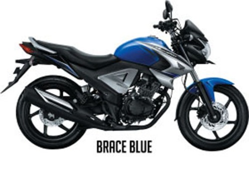Honda New Megapro FI - Warna Brace Blue