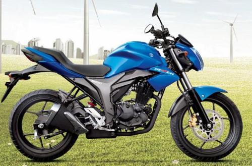suzuki gixxer 150cc - 2014 model
