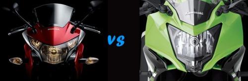 Honda CBR 250R vs Kawasaki Ninja 250RR Mono