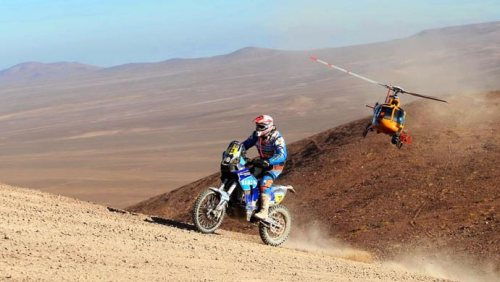 TVS RTR450 at Dakkar Rally