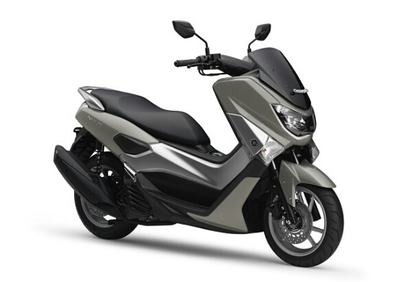 yamaha nmax warna metallic grey
