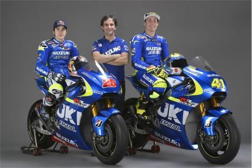 Team Suzuki Ecstar MotoGP 2016