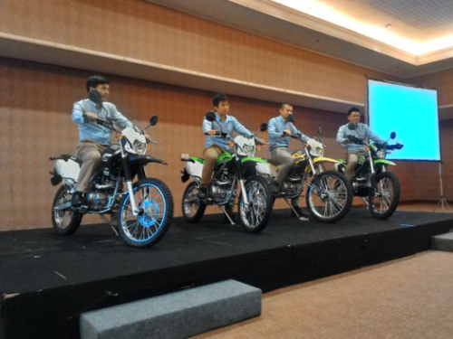 Launching Kawasaki KLX 150 Versi 2015