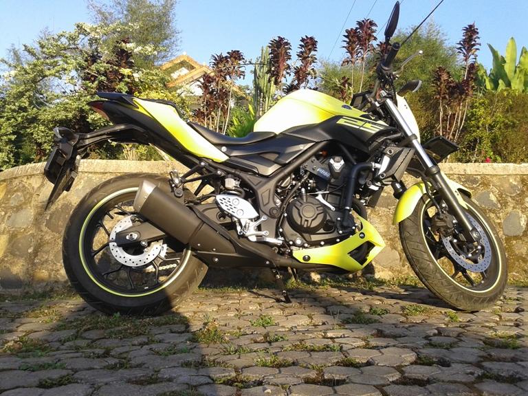Test ride Yamaha MT-25