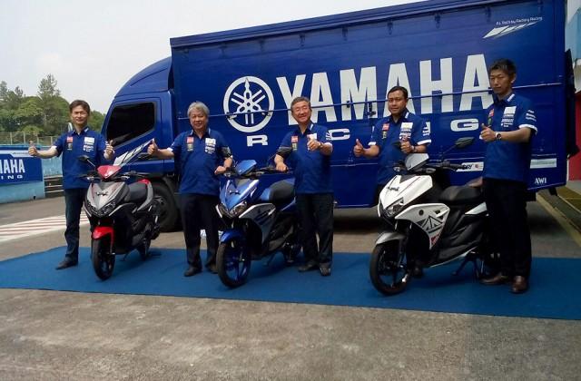 photo launching yamaha aerox 125 lc