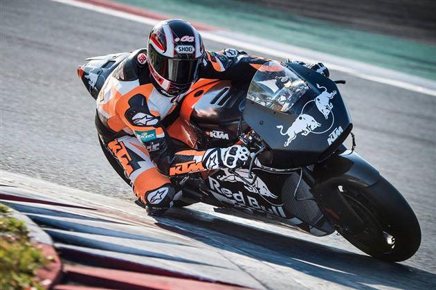 Mika Kallio KTM MotoGP Valencia Wildcard