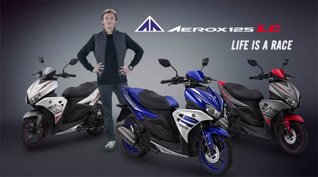 Video iklan Yamaha Aerox 125 LC