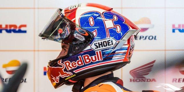 helm baru marc marquez