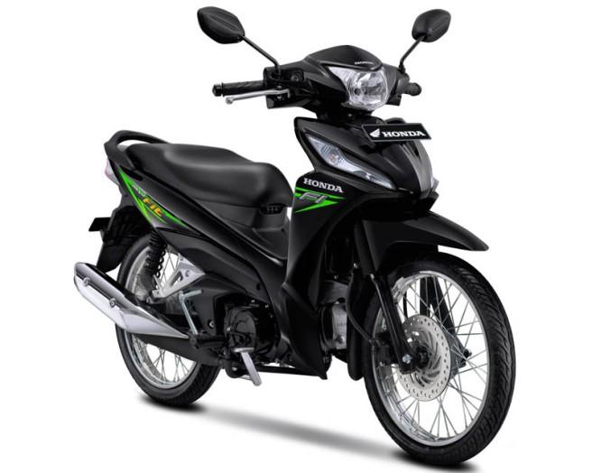 Honda Revo Fit Warna Neo Green