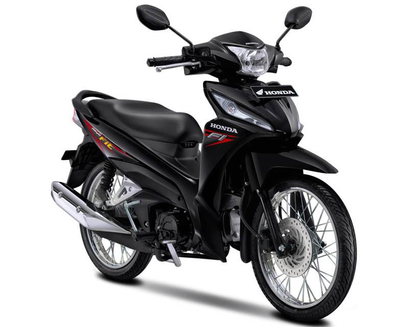 Honda Revo Fit Warna Raving Red