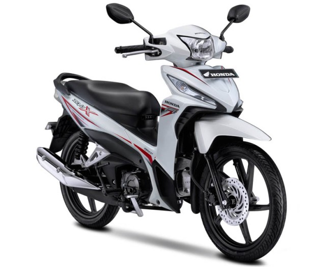 Honda Revo X Warna Cosmic White