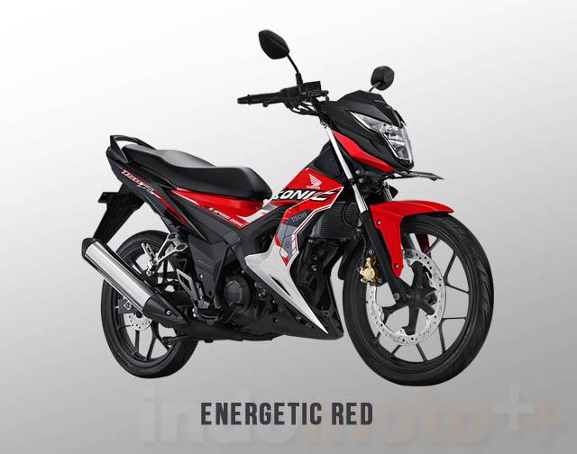 Honda Sonic 150R Warna Energetic Red