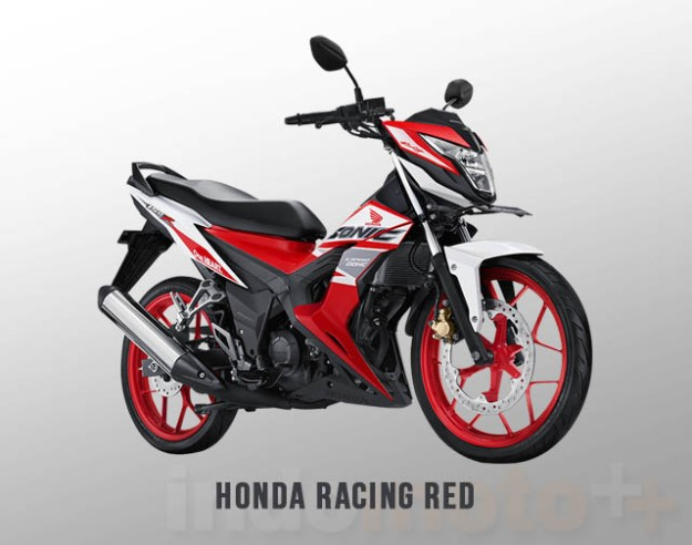 Honda Sonic 150R Warna Racing Red