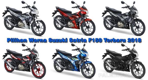 Pilihan Warna Suzuki Satria FU Terbaru 2018