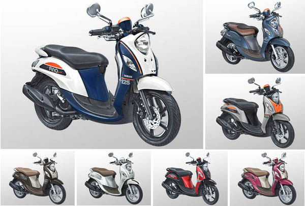 Pilihan Warna Yamaha Fino 125