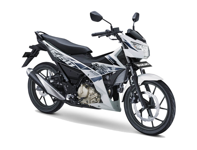 Suzuki Satria F150 Warna Brilliant White (Putih)