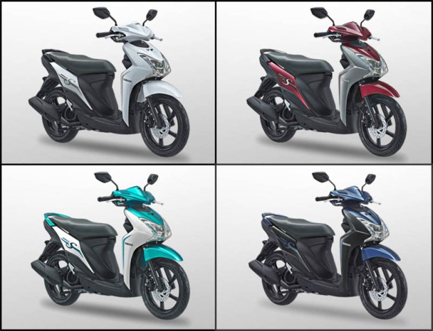 Pilihan Warna Yamaha Mio S 125 Bluecore