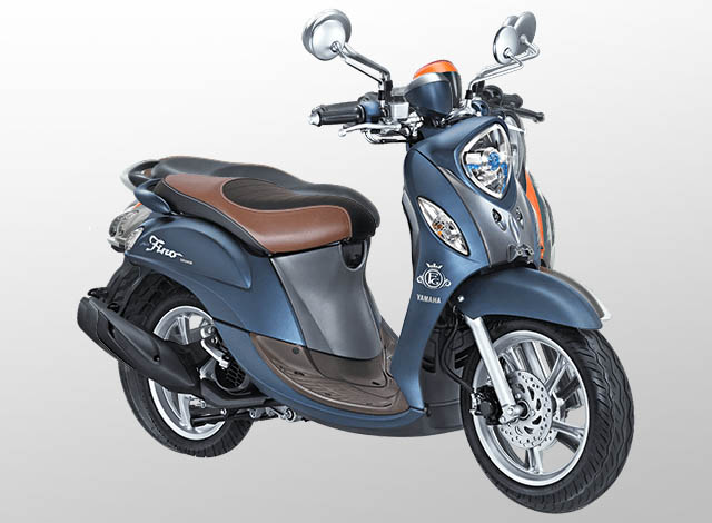 Yamaha Fino 125 Grande Warna Royal Blue