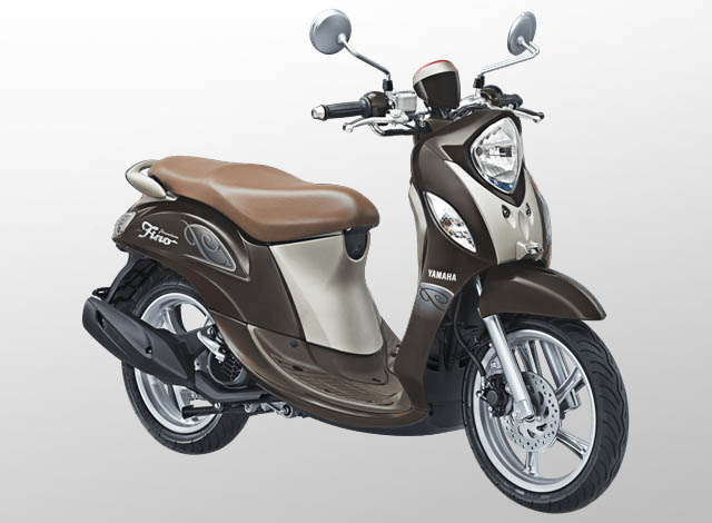 Yamaha Fino 125 Premium Warna Cocho Caramel