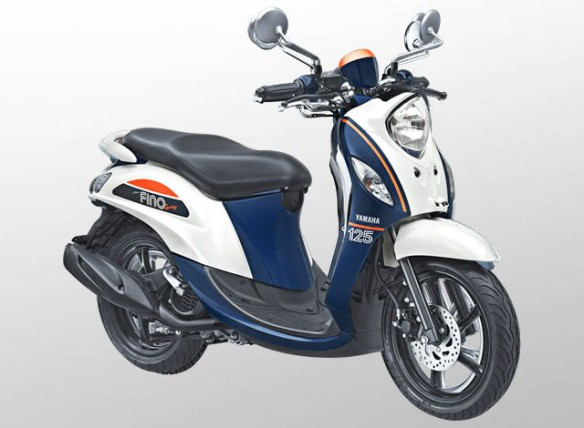 Yamaha Fino 125 Sporty Warna Jump White