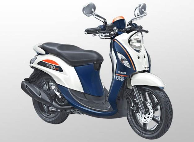 Yamaha Fino 125 Sporty Warna Jump White
