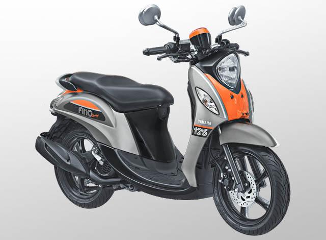 Yamaha Fino 125 Sporty Warna Pump Grey