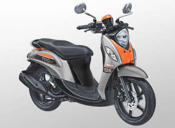 Yamaha Fino 125 Sporty Warna Pump Grey