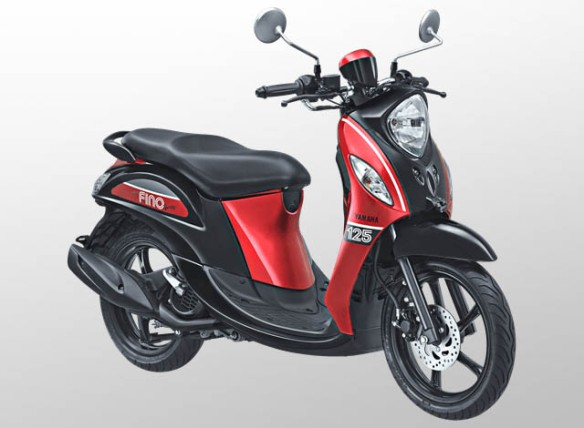 Yamaha Fino 125 Sporty Warna Sprint Red