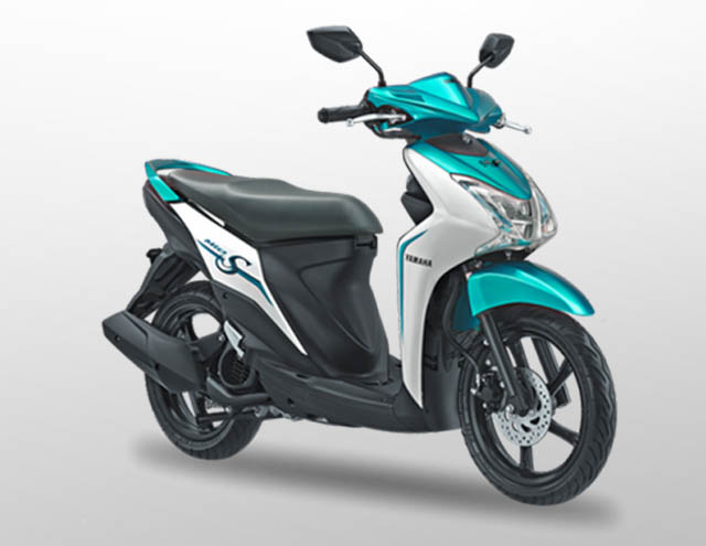 Yamaha Mio S 125 Warna Special Green (Hijau)