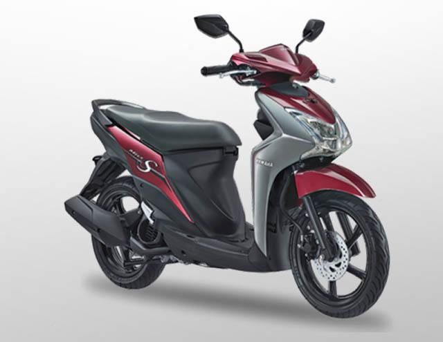 Yamaha Mio S 125 Warna Spirit Red (Merah)