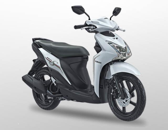 Yamaha Mio S 125 Warna Smart White (Putih)