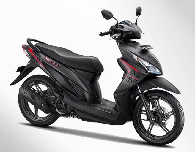 Honda Vario eSP Warna Advance Matte Grey (Abu-abu)