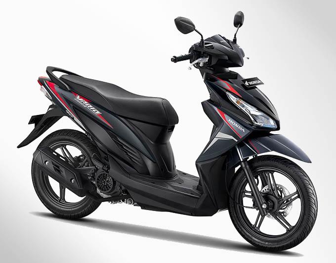 Honda Vario eSP Warna Estilo Black (Hitam)