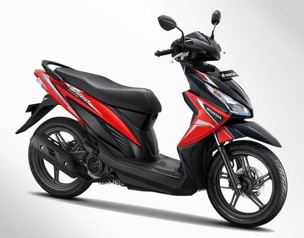 Honda Vario eSP Warna Glam Red (Merah)