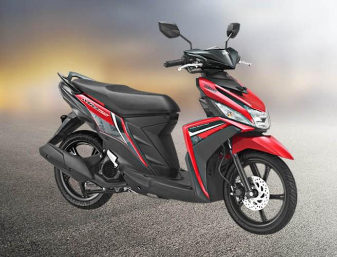 Yamaha Mio warna merah