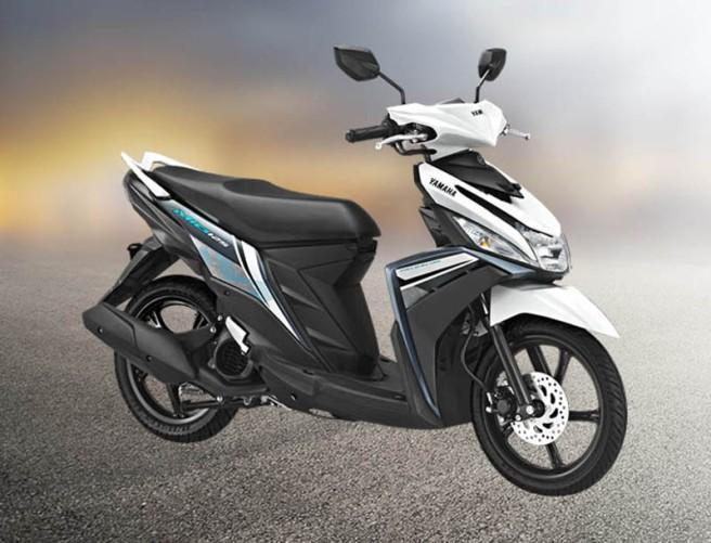 Yamaha Mio warna putih