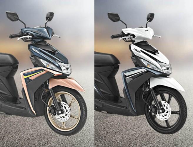 Warna Baru Yamaha Mio M3