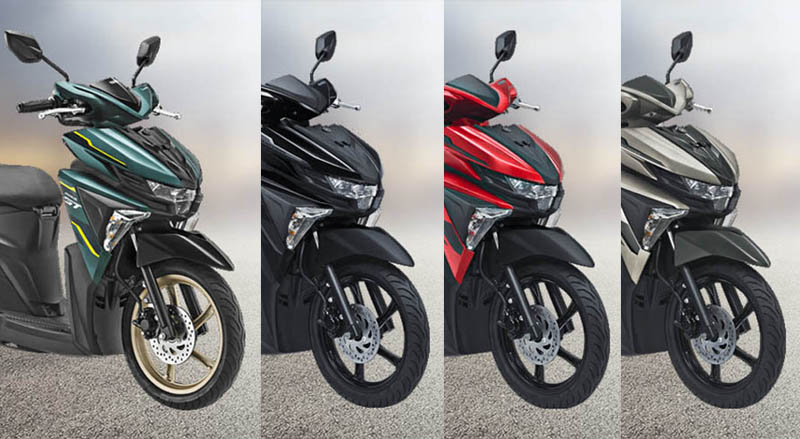 Pilihan Warna Yamaha Soul GT Terbaru 2018
