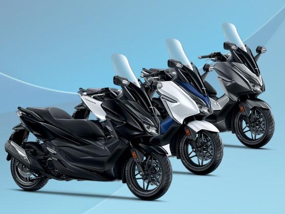 Spesifikasi dan pilihan warna Honda Forza